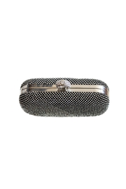 Carte Blanche Glitz & Glam Ring Clutch - Front full body