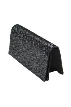 Shoptiques Product: Glitzy Black Clutch
