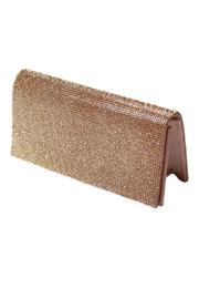 Carte Blanche Glitzy Gold Clutch - Product Mini Image