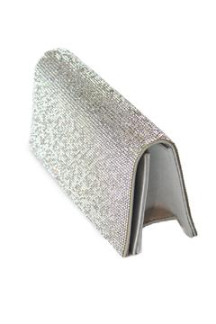 Shoptiques Product: Glitzy Silver Clutch