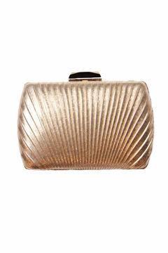 Shoptiques Product: Gold Art Deco Clutch