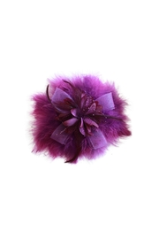 Carte Blanche Iris Fascinator - Front cropped