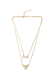 Carte Blanche Kayla Necklace - Front cropped