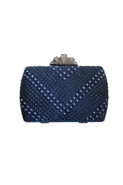 Carte Blanche Midnight Ruler Clutch - Front cropped