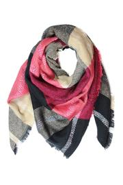 Carte Blanche Red Blanket Scarf - Product Mini Image