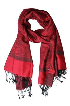 Shoptiques Product: Red Pashmina