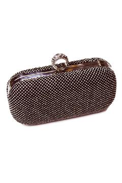 Shoptiques Product: Ring Clasp Sparkly Clutch