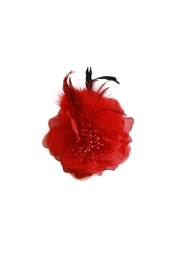 Carte Blanche Scarlet Fascinator - Product Mini Image