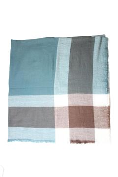 Shoptiques Product: Teal Blanket Scarf