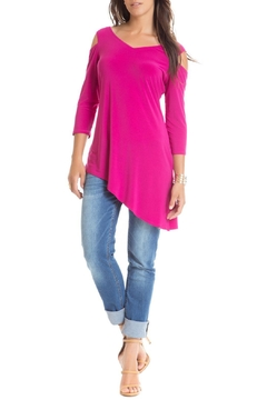 Cartise Bright Asymmetrical Blouse - Product List Image