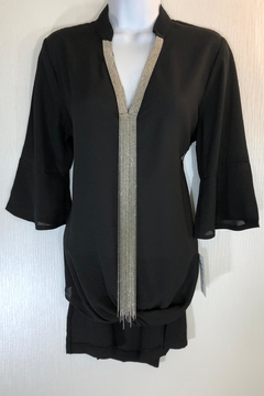 Cartise Chain Detail Tunic - Product List Image