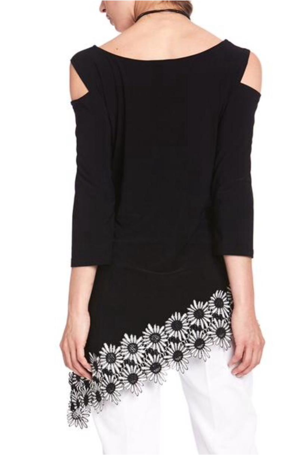 Cartise Daisy Asymmetric Tunic - Front Full Image