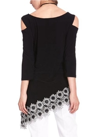Cartise Daisy Asymmetric Tunic - Front full body
