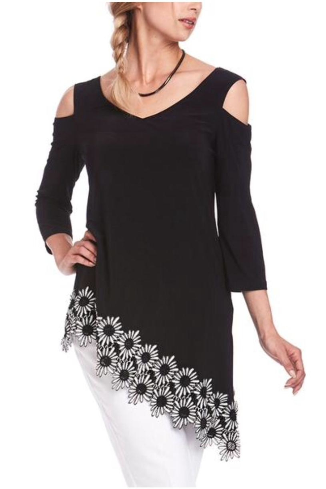 Cartise Daisy Asymmetric Tunic - Main Image