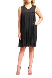 Cartise Fringe Black Dress - Product Mini Image