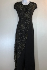 Cartise Gold Overlay Jumpsuit - Front cropped