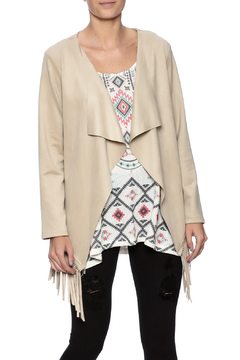 Shoptiques Product: Soft Fringe Jacket