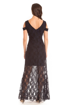 Cartise Stretch Lace Gown - Alternate List Image