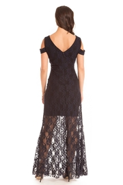 Cartise Stretch Lace Gown - Front full body