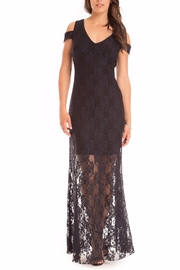 Cartise Stretch Lace Gown - Product Mini Image
