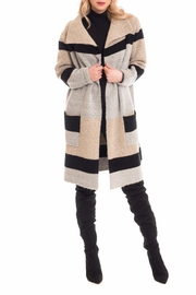 Cartise Wide Collar Coat - Product Mini Image