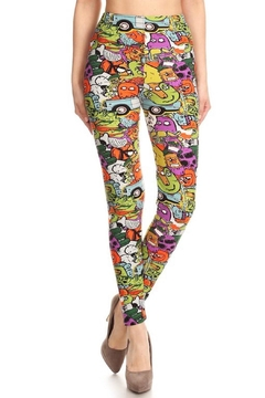 Shoptiques Product: Cartoon Character Leggings