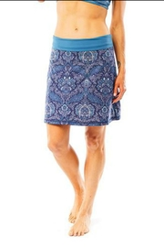 Carve Designs Seaside Paisley Skirt - Front cropped