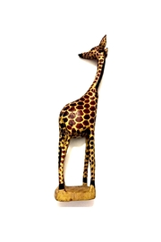 Love's Hangover Creations Carved Wooden Giraffe - Product Mini Image
