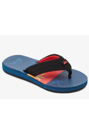 Quicksilver Carver Print Sandals Youth - Product Mini Image