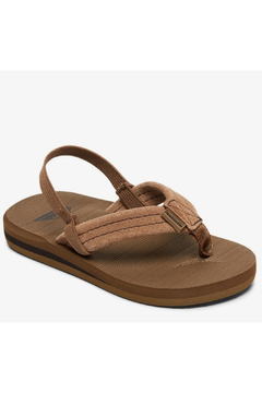 Shoptiques Product: Carver Suede Leather Sandals Toddler