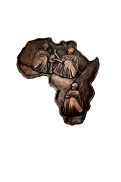 Love's Hangover Creations Carving Of Africa - Alternate List Image