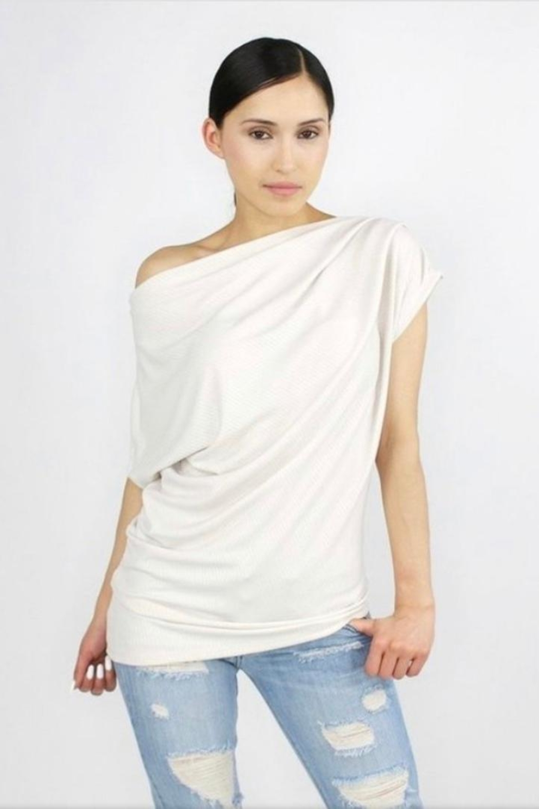 Casa Lee  One Shoulder Top - Main Image