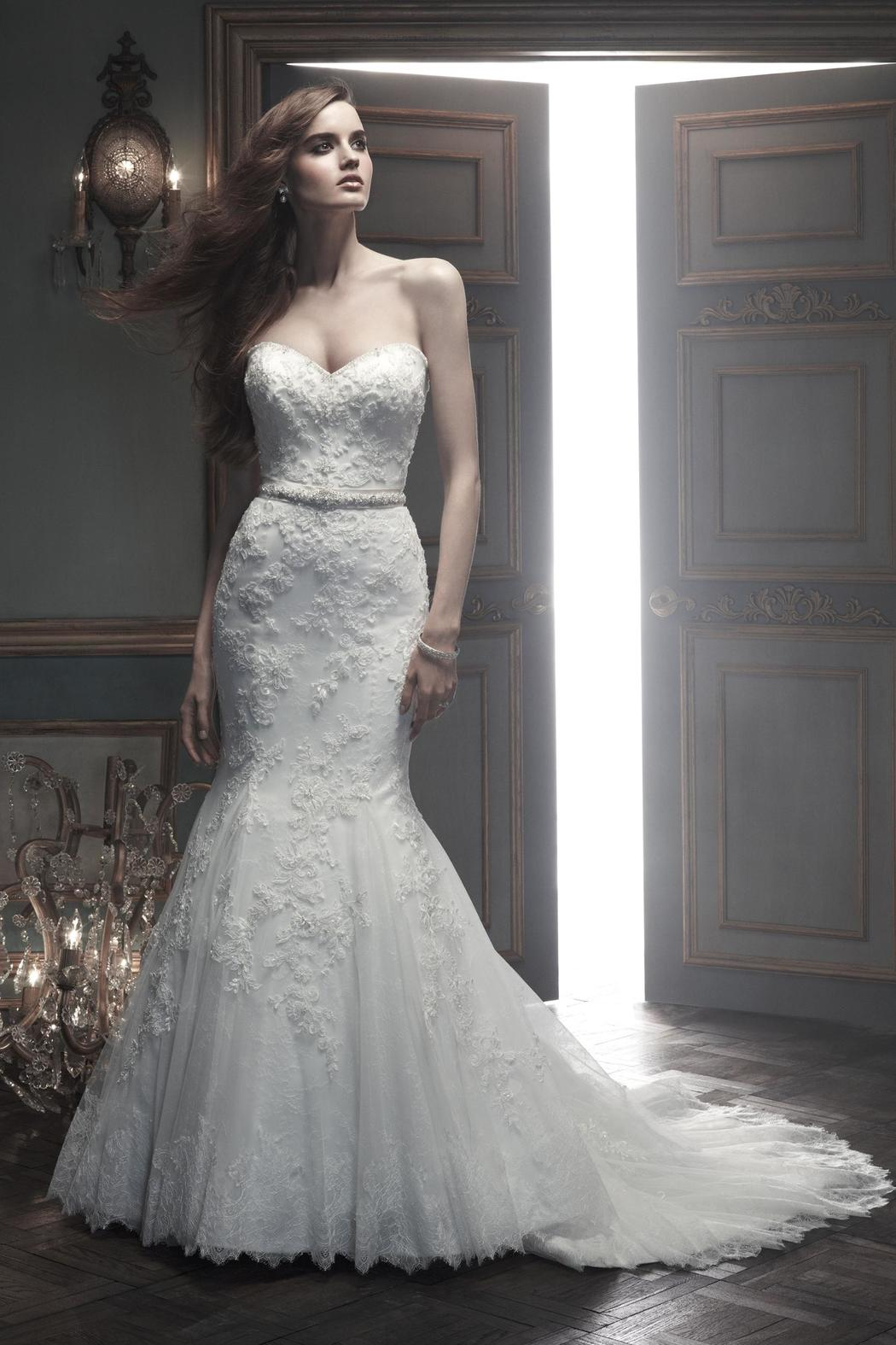 Casablanca Bridal Lace Fit And Flare Gown from Maryland by TLC ...