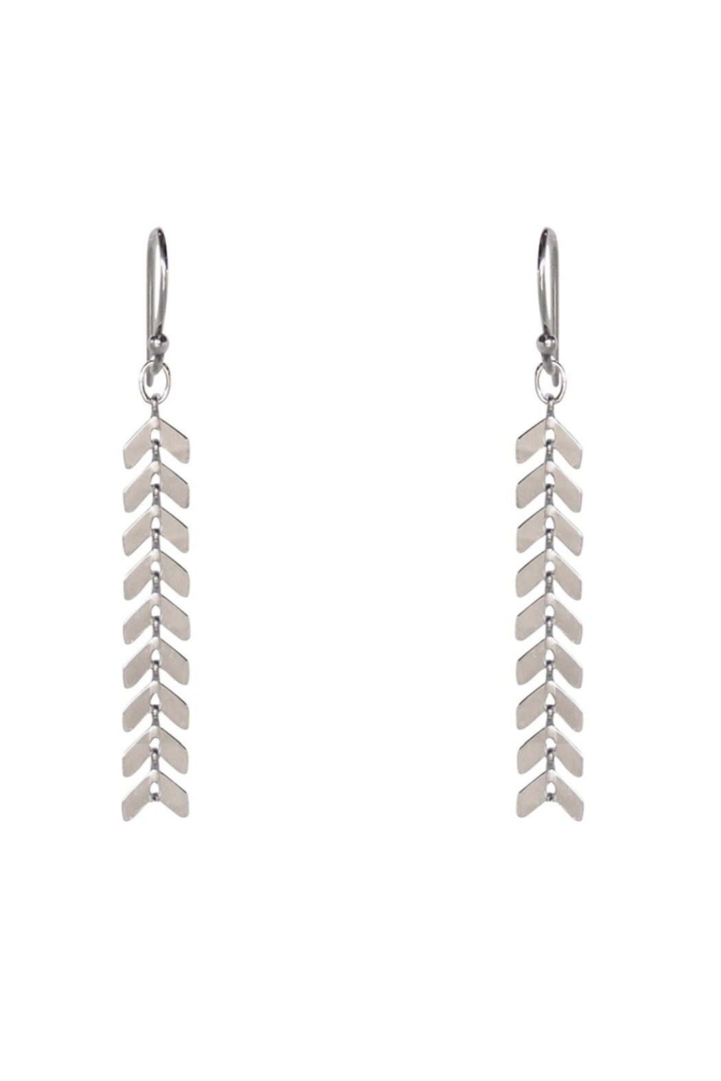 Bronwen Cascade Medium Earrings - Front Cropped Image
