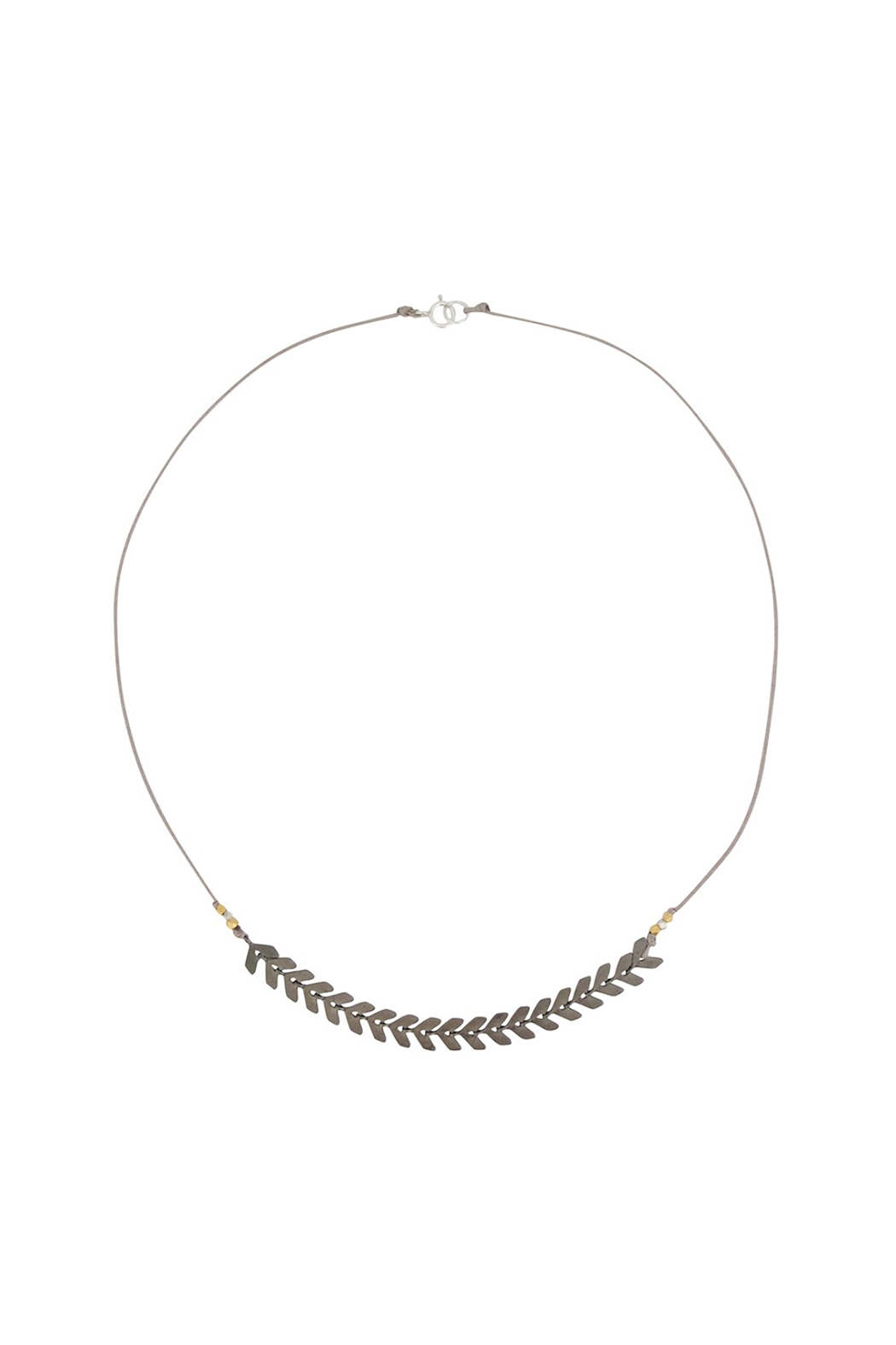 Bronwen Cascade Necklace - Front Cropped Image