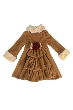 Peaches 'N Cream Cascading Ruffle Coat - Alternate List Image