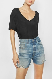 Anine Bing Casey Denim Shorts - Product Mini Image
