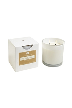 Hillhouse Naturals CASHMERE 2 WICK CANDLE IN WHITE GLASS - Alternate List Image