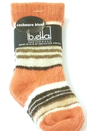 B.ella Cashmere Blend Baby Socks Coral - Product Mini Image