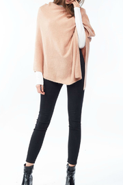 Look by M Cashmere blend poncho - Product Mini Image