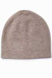 Look by M Cashmere Blended Basic Beanie - Front cropped