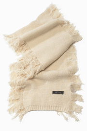 Look by M Cashmere Blended Fringe Scarf - Product Mini Image