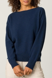 Margaret O'Leary Cashmere Boatneck - Front cropped