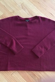 Minnie Rose Cashmere Boyfriend Crew - Product Mini Image