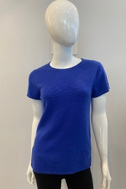 In Cashmere Cashmere Cap Sleeve Top - Front cropped