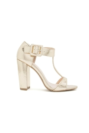 Qupid Cashmere Chunky Heel - Front full body