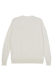 Leret Leret Cashmere Crewneck Heart Sweater - Front full body
