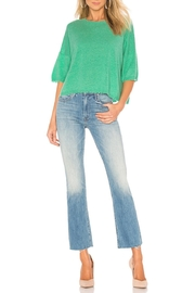 Autumn Cashmere Cashmere Distressed Crew - Front cropped
