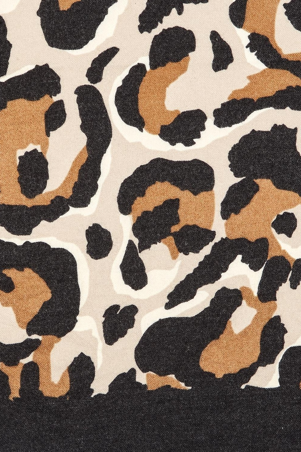 Two's Company Cashmere Feel Leopard Scarf - Side Cropped Image