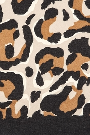 Two's Company Cashmere Feel Leopard Scarf - Side cropped
